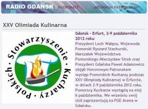 Honorowy Patronat Radia Gdańsk