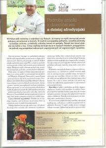 """Prezes Stowarzyszenia Kucharzy Polskich Krzysztof Szulborski w """"Poradniku Restauratora"""""""