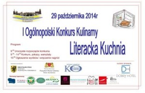 "I OGÓLNOPOLSKI KONKURS KULINARNY ""Literacka Kuchnia"""