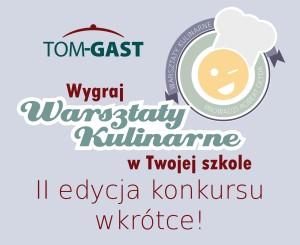TOMGAST wspiera edukację gastronomiczną w Polsce