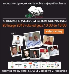 XI Konkurs Kuchni Włoskiej / 20.02.16 / Pabianice