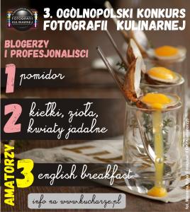 3 Ogólnopolski Konkurs Fotografii Kulinarnej