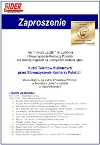 Zapraszamy do Lublina!