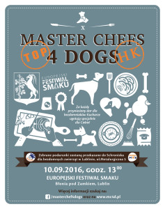 X Master Chefs 4 Dogs/ 10.09/ Lublin