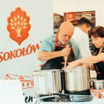 Gotowanie z literaturą  / Akademia Smaku Sokołów na II Festiwalu Stolica Języka Polskiego w Szczebrzeszynie