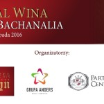 FESTIWAL WINA – BACHANALIA 2016