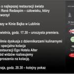 """""""Noma: My Perfect Storm"""" 22.04 w Kinie Bajka w Lublinie"""