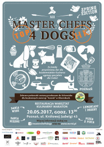 MASTER CHEFS 4 DOGS-SPRING EDITION