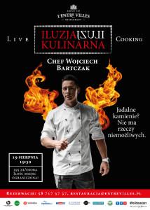 Iluzja Kulinarna z Chefem Wojciechem Bartczakiem