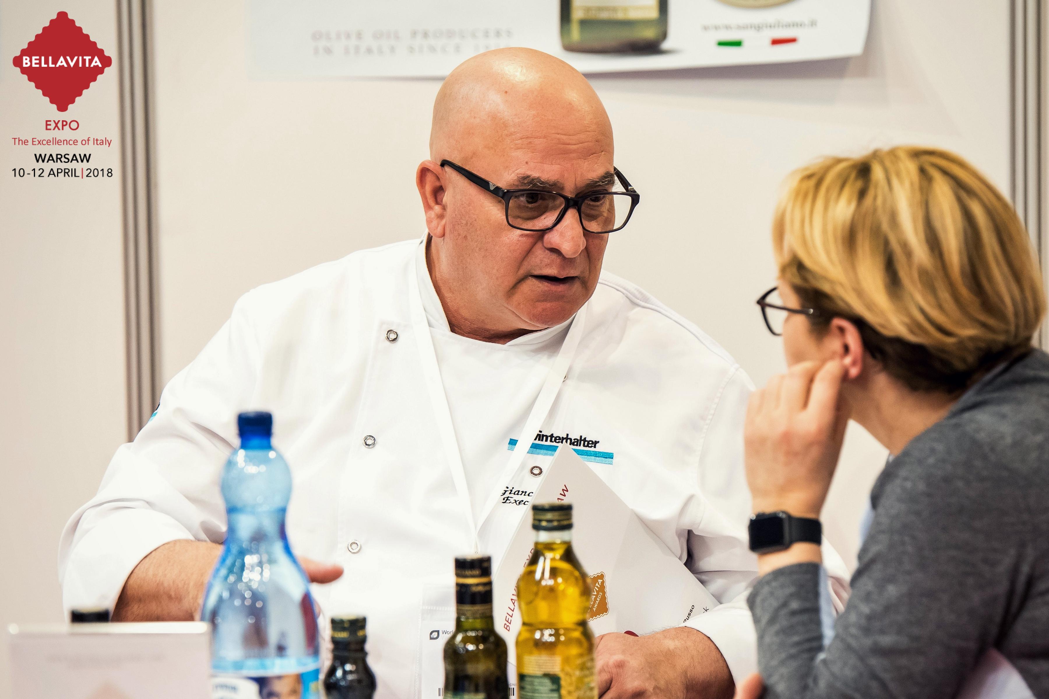 Chef Giancarlo Russo - Bellavita Warsaw