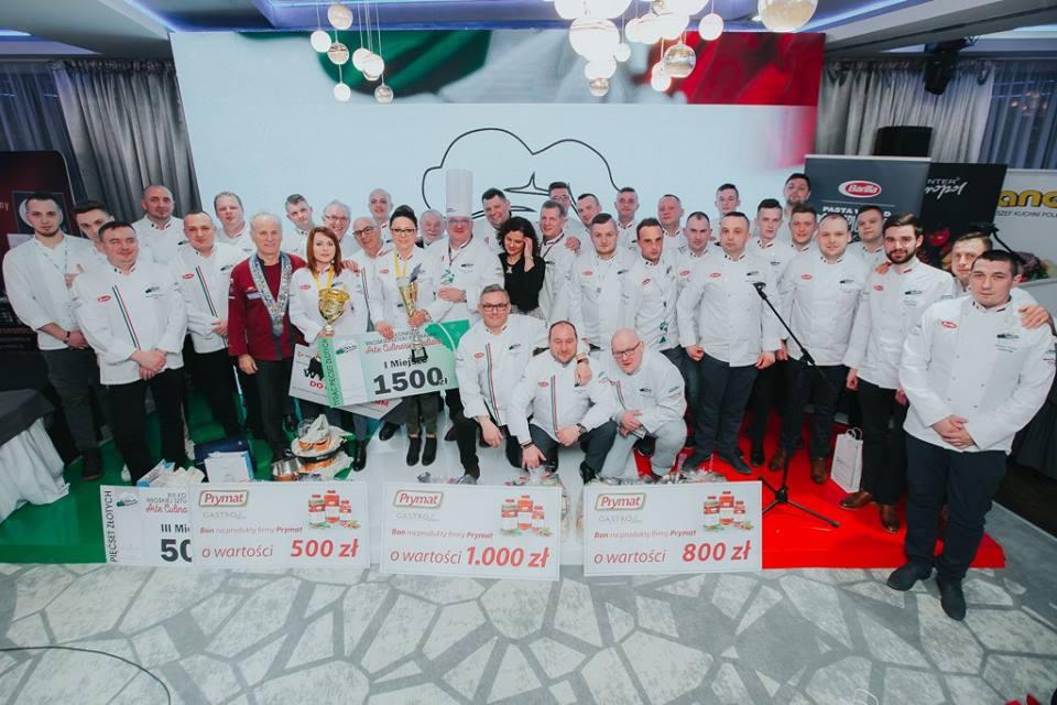 Jury i laureaci konkursu Arte Culinaria Italiana 2018