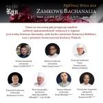 Festiwal Wina  – Zamkowe Bachanalia / 8.12 / Hotel ZAMEK RYN****