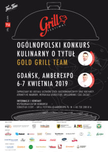 GRILL FESTIWAL OGÓLNOPOLSKI KONKURS KULINARNY O TYTUŁ GOLD GRILL TEAM