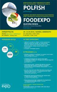 Targi FOODEXPO i POLFISH / 29-31.05 w GDAŃSKU!