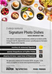 Wystartowała III edycja konkursu fotografii kulinarnej