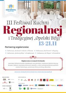 """III Festiwalu Kuchni Regionalnej i Tradycyjnej """"Opolski Bifyj"""""""