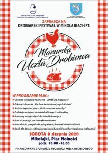Mazurska Uczta Drobiowa / Mikołajki / 8.08.20