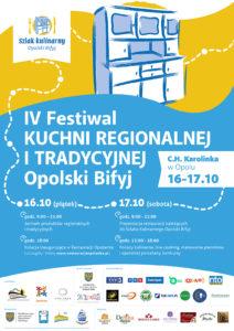 """IV Festiwal Kuchni Regionalnej i Tradycyjnej """"Opolski Bifyj"""""""