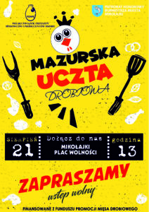 Mazurska Uczta Drobiowa / Mikołajki / 21.08.21